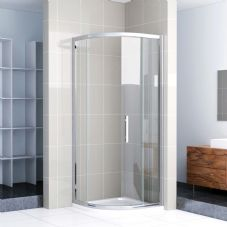 Crown 1000mm Single Door Quadrant Shower Enclosure